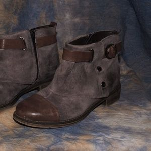 Boutique 9 Size 5.5 Womens Grey and brown booties